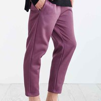 Cropped Knit Trouser-