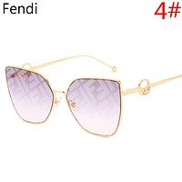 Fendi Women Fashion New More Letter Travel Sunscreen Leisure Eyeglasses Glasses