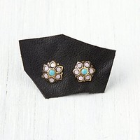 Free People Stone Flower Stud