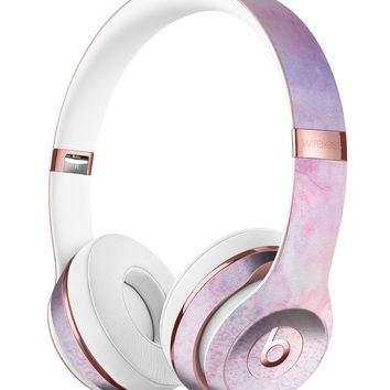 Pink 917 Absorbed Watercolor Texture Full-Body Skin Kit for the Beats by Dre Solo 3 Wireless Headphones