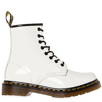 The 1460 8 Eye Boot in White