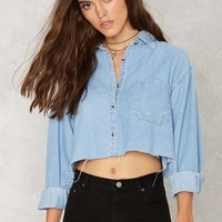 After Party Vintage Edgefield Shirt - Cropped