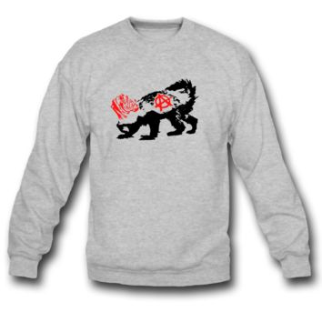 Punk Honey Badger SWEATSHIRT CREWNECKS