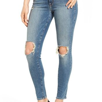 Good American Good Legs Ripped Skinny Jeans | Nordstrom