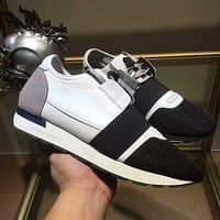 Balenciaga Casual Fashion Breathable Sneakers Sport Shoes