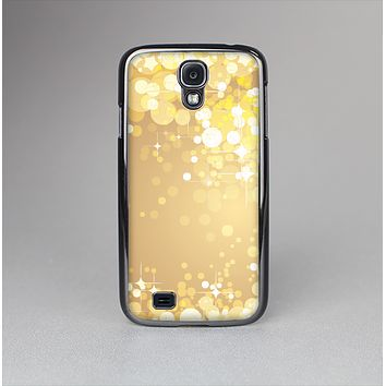 The Gold Unfocused Sparkles Skin-Sert Case for the Samsung Galaxy S4