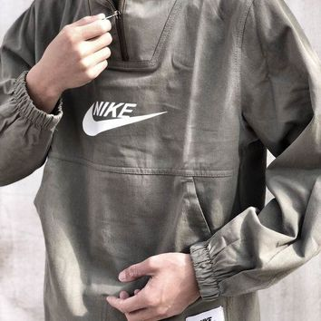 NIKE autumn and winter models tooling couple sports and leisure hooded sweater