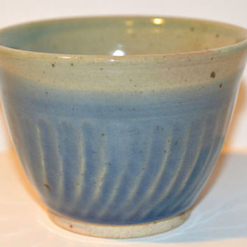 Hand Thrown Pottery Signed Vase Bowl JB (connected initials) Handcrafted