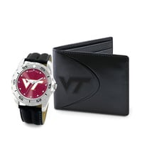 Virginia Tech Hokies NCAA Men's Watch & Wallet Set