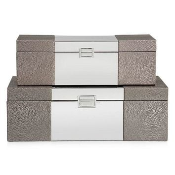 Celeste Boxes - Set of 2 | Office & Organization | Decor | Z Gallerie