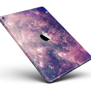 "Vibrant Sparkly Pink Nebula Full Body Skin for the iPad Pro (12.9"" or 9.7"" available)"