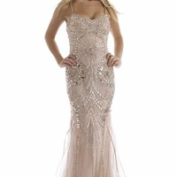 Sequined Gown by Morrell Maxie