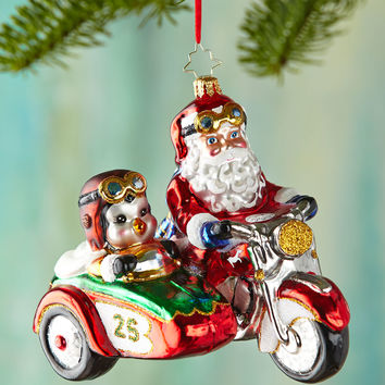Motorcycle Chums Christmas Ornament - Christopher Radko