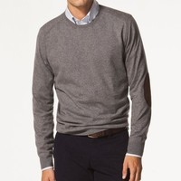 Rounded Collar Sweater GREY