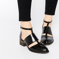 Warehouse Cut Out Ankle Boots