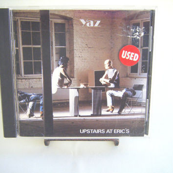 Yaz Upstairs at Eric's CD Vintage Used Music New Wave Electronic Sythn Pop Rock