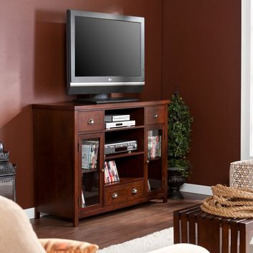 """Porter 48"" Gaming TV Media Console Espresso"""