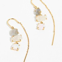 Tai Opal Threader Earrings