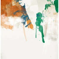 India Art Print by Jerod Gibson