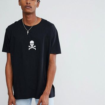 Reclaimed Vintage Inspired T-Shirt With Embroidery at asos.com
