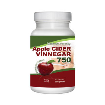 Maximum Potency Apple Cider Vinegar Capsules - Break Down Ugly Body Fat - Lose Weight safe and Effectively