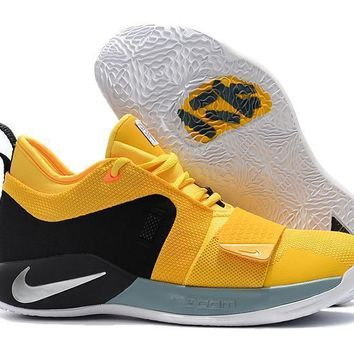 Nike Paul George Pg 2.5 Yellow/black Basketball Shoes