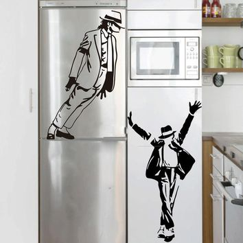 Dancing Michael Jackson Wall Art Stickers