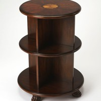 Butler Wagner Plantation Cherry Bookcase End Table