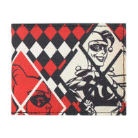 DC Comics Harley Quinn Diamonds Bi-Fold Wallet