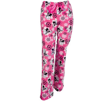 Minnie Mouse - Scattered Minnie Juniors Sleep Pants