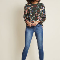 Effortless Outreach Floral Top