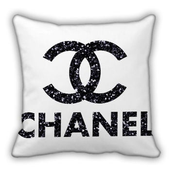 Chanel Glitter Logo Pillow Cover/Pillow Case/Bedding