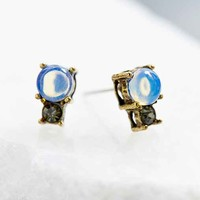 Dreamt Moonstone Stud Earring- Gold One
