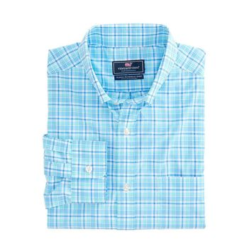 Classic Murray Performance Shirt in Tipsy Bar Plaid by Vineyard Vines