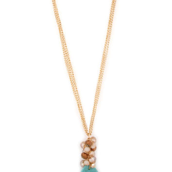 Cluster Necklace - Mulitple Colors