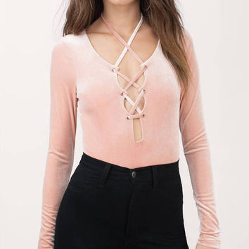 Lisbeth Lace Up Bodysuit