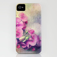 wild sweet peas iPhone Case by Sylvia Cook Photography | Society6