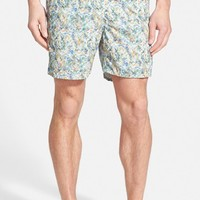 Men's Michael's Swimwear 'Paisley' Print Swim Trunks