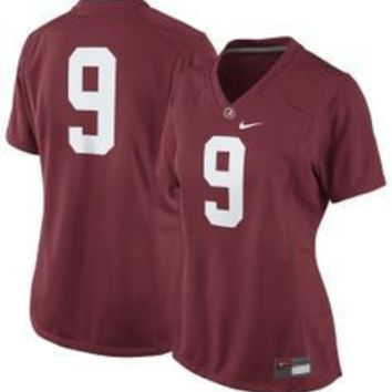 NCAA Alabama Crimson Tide Nike Women's NO. 9 Nike Jersey