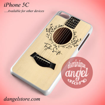 Taylor Swift Guitar Phone case for iPhone 5C and another iPhone devices