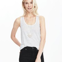 Linen Tank | Banana Republic