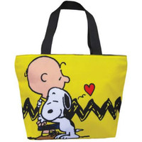 Charlie Brown & Snoopy Peanuts Tote Bag,Laptop Tote,Shoulder Tote Bag for Women