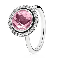 Pandora Brilliant Legacy with Pink CZ Ring