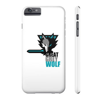 The Great Grey Wolf Phone Case