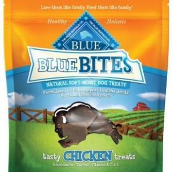 Blue Buffalo Bites Chicken Moist Dog Treats 6 oz