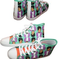 Pop Icon Sneakers - Available in High Tops, Low Tops or Slip Ons