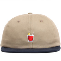 Happy Hour Strapback Hat Khaki / Navy