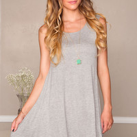 Emma Dress - Gray