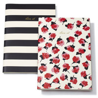 Kate Spade New York Live It, Love It Journal - Set of 2