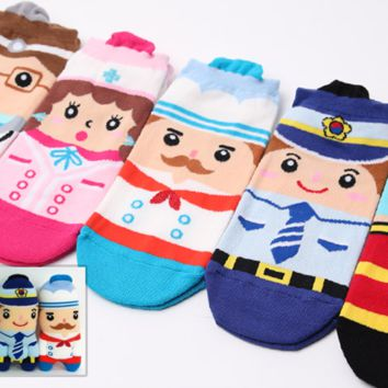 Job Character Socks